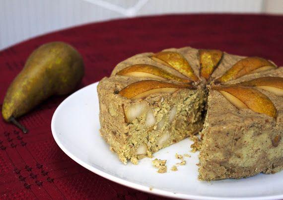 The Kiwi Ingenuity Manuka Honey Pear Walnut Cake