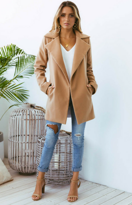 2aaf6e4e3 Harlem Coat Mini - Tan in 2019 | Homecoming 2018 | Camel coat ...