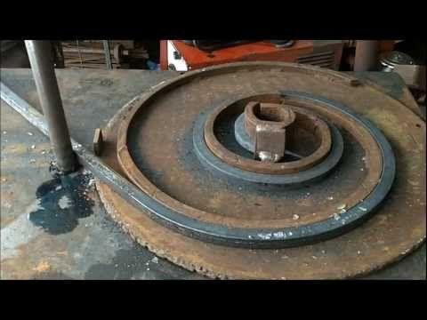 Blacksmith bending jig youtube ferronnerie - Soudure a froid fer ...