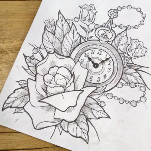 black and grey pocket watch drawing - Google zoeken | Old ...