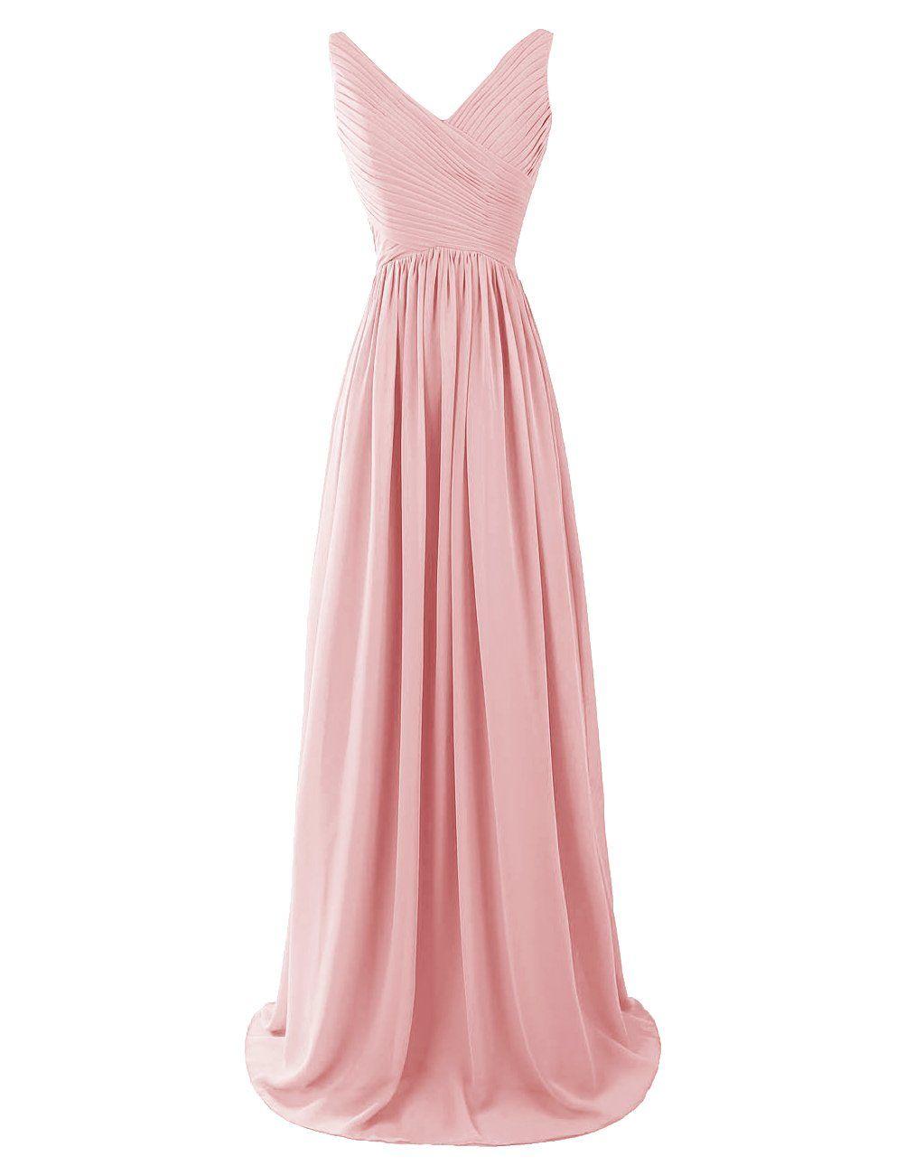 Dresstells® Women\'s Long Chiffon Bridesmaid Dress | Your dream dress ...