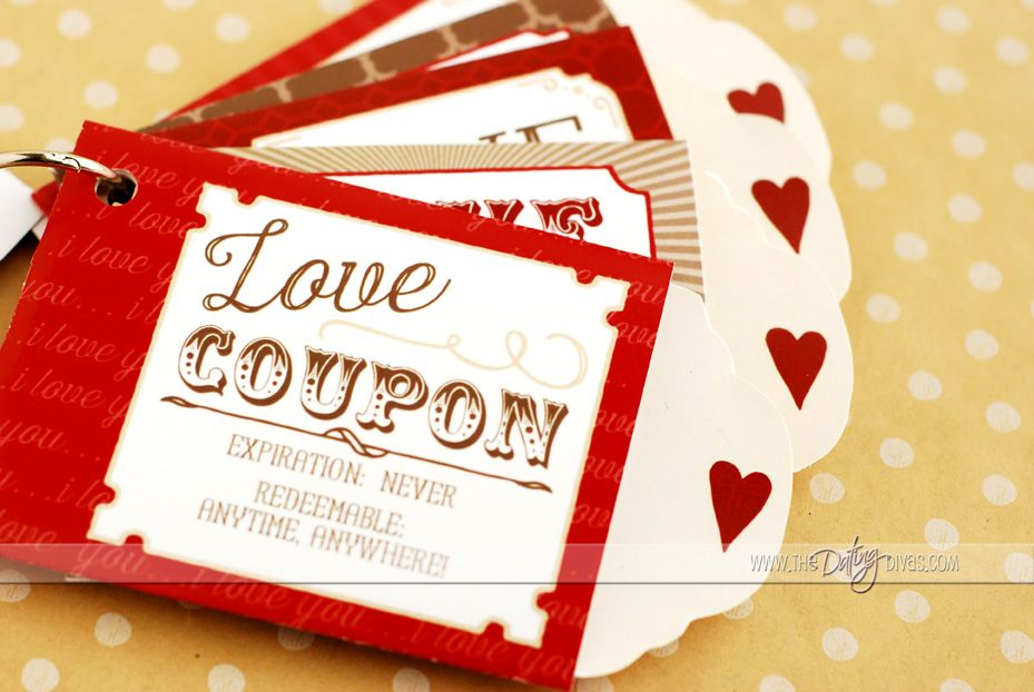 Diy Love Coupons  Gift Homemade Christmas Gifts And Craft