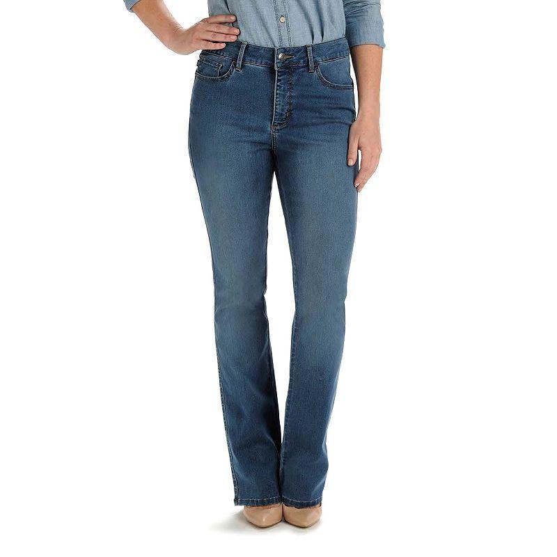 Women's Lee Easy Fit Bootcut Jeans, Dark Blue