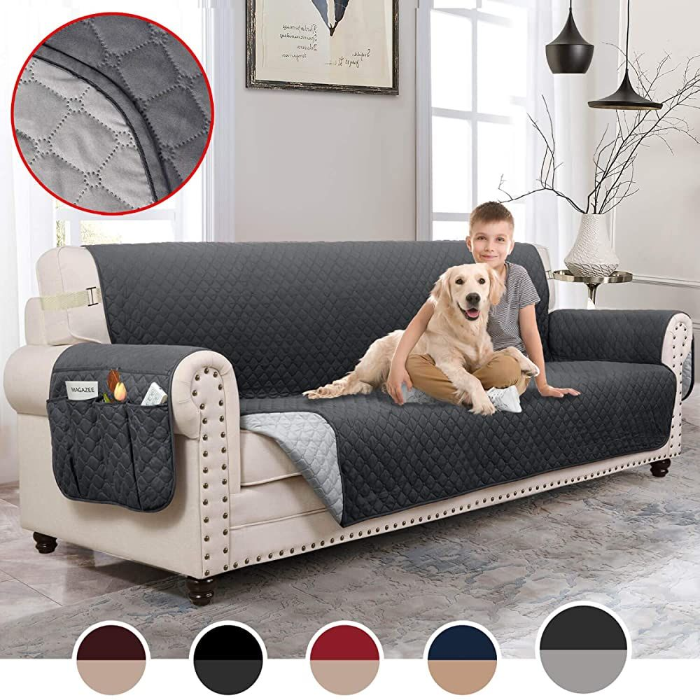 Moymo Reversible Oversized Sofa Cover For Dogs Durable Sofa Slipcover Couch Covers For Dogs Couch Covers For 3 Cushi In 2020 Slip Covers Couch Sofa Covers Couch Covers