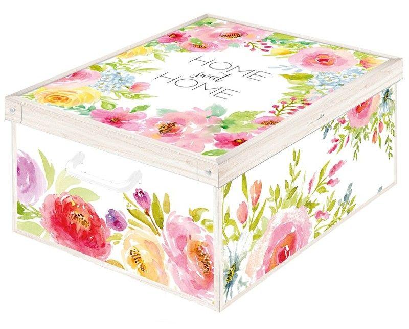 Boite De Rangement Pliable En Carton Collection Trendy Decor Sweet Home Boite De Rangement Boite De Rangement Carton Boites De Rangement Decoratives