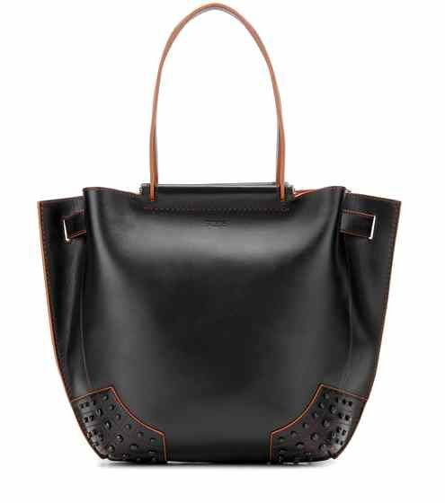 Gommini Small leather tote | Tod's AW2016