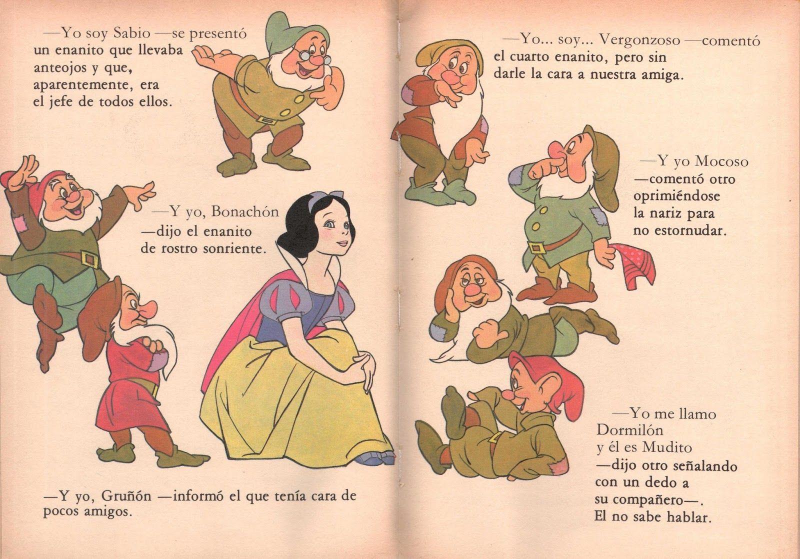 Blancanieves Y Los Siete Enanitos Cuentos Infantiles Cortos Para Niños Comics Peanuts Comics