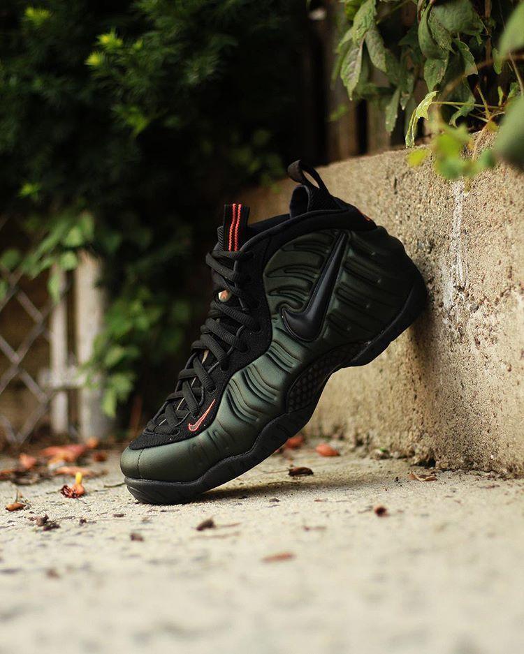 detailed look 517ac 483a5 Nike Air Foamposite Tenis, Penny Hardaway, Pantera Negra, Zapatillas De  Baloncesto, Nike