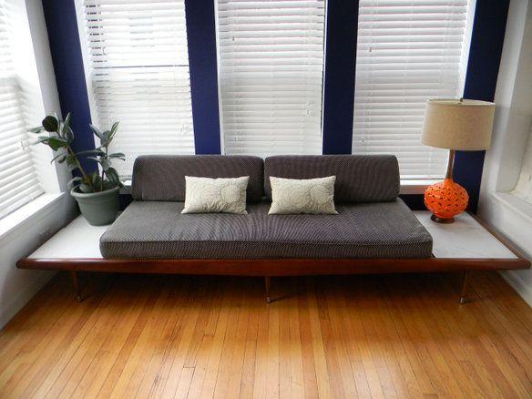 Adrian Pearsall Gondola / Platform Sofa I Think I Could Make Something Like  This!