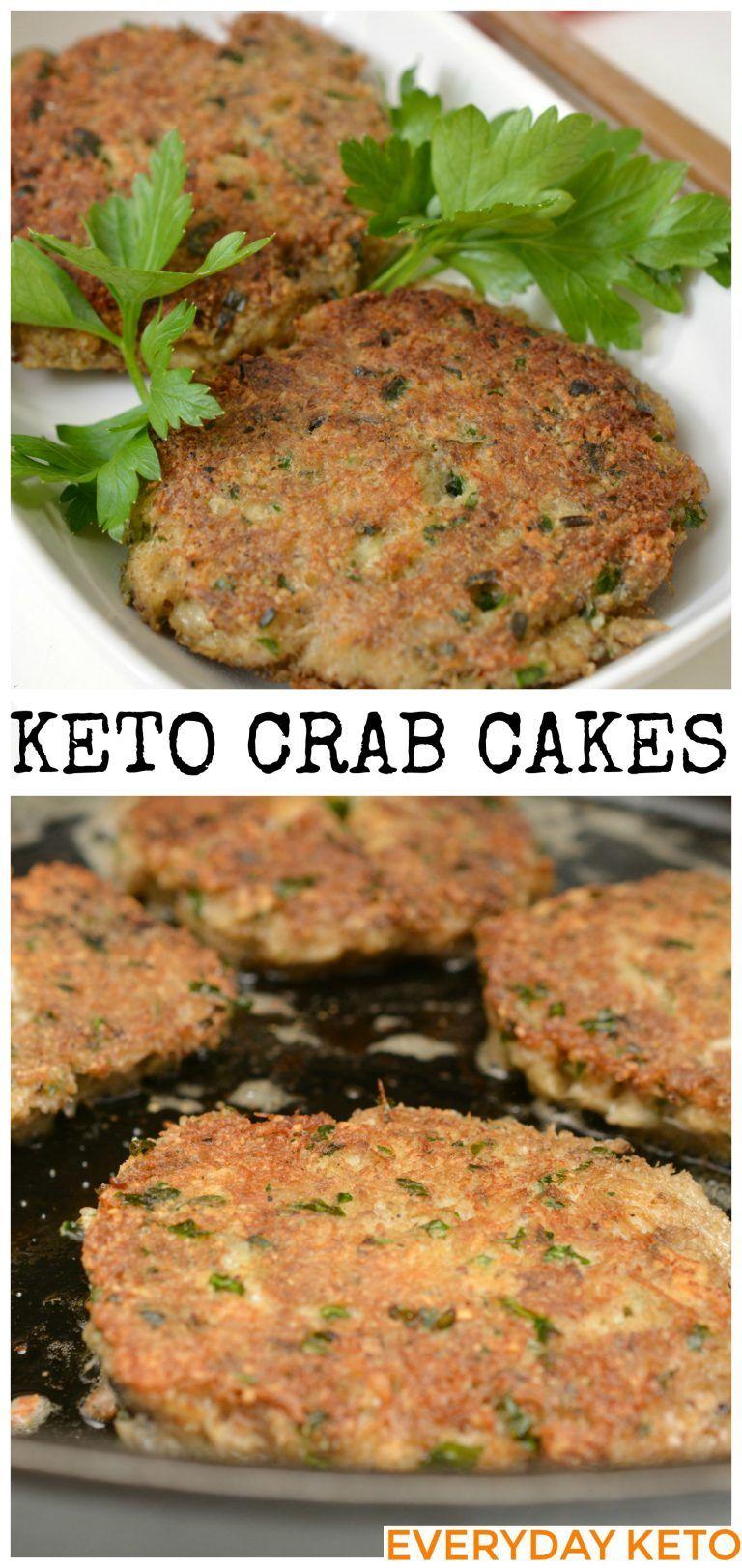 Keto crab cakes recipe healthy superbowl snacks low