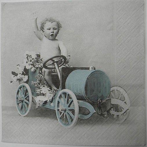 салфетка - мальчик autíčku