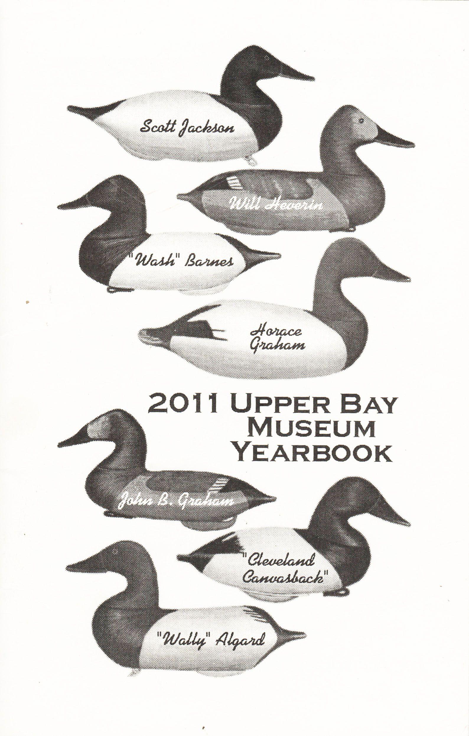 ducj decoys 2011 upper bay museum yearbook miscellany iii
