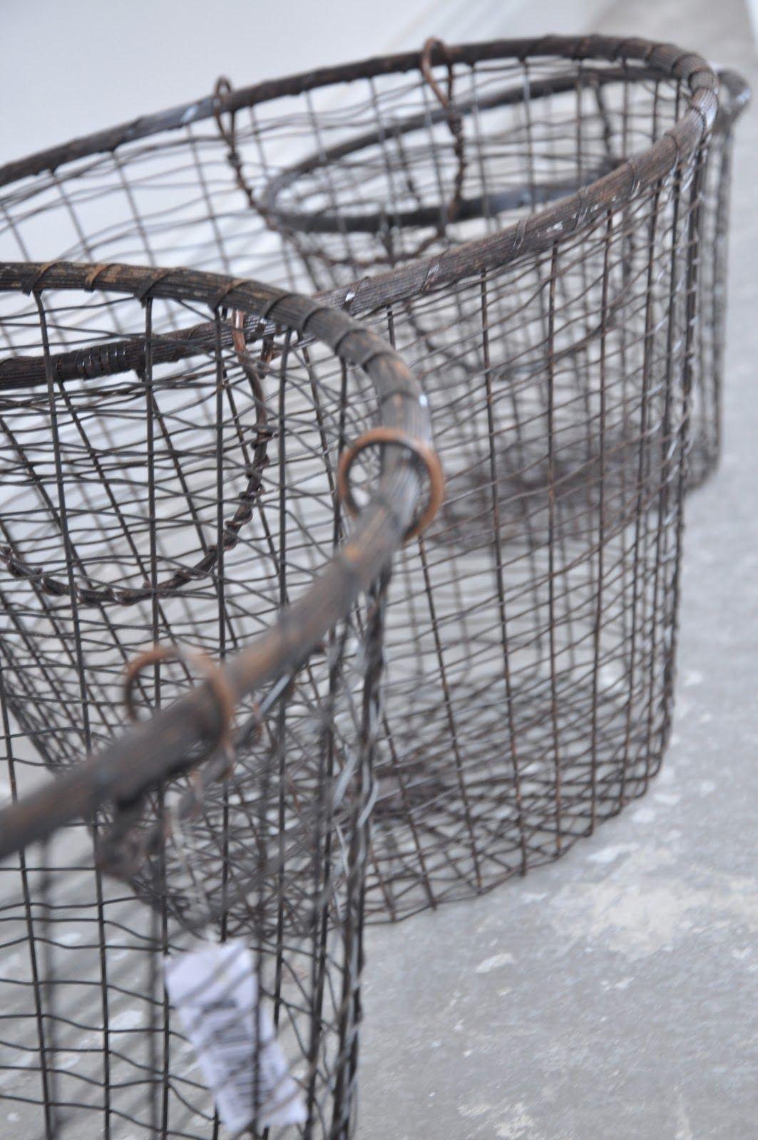 Wire Baskets   50 Shades....   Pinterest   Wire basket, Living room ...