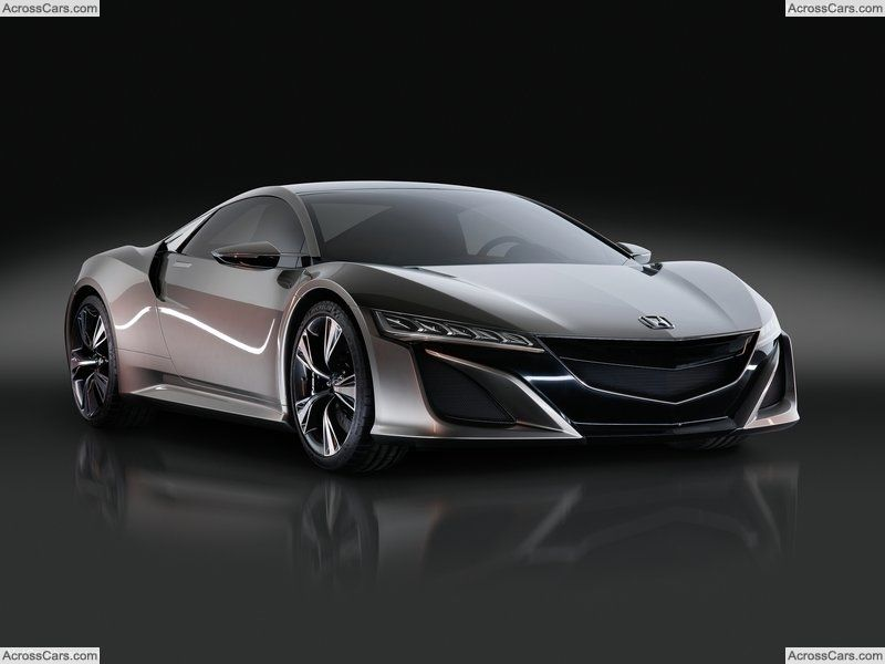 Acura Nsx Concept 2012 Acura Nsx Automotive Design And Cars