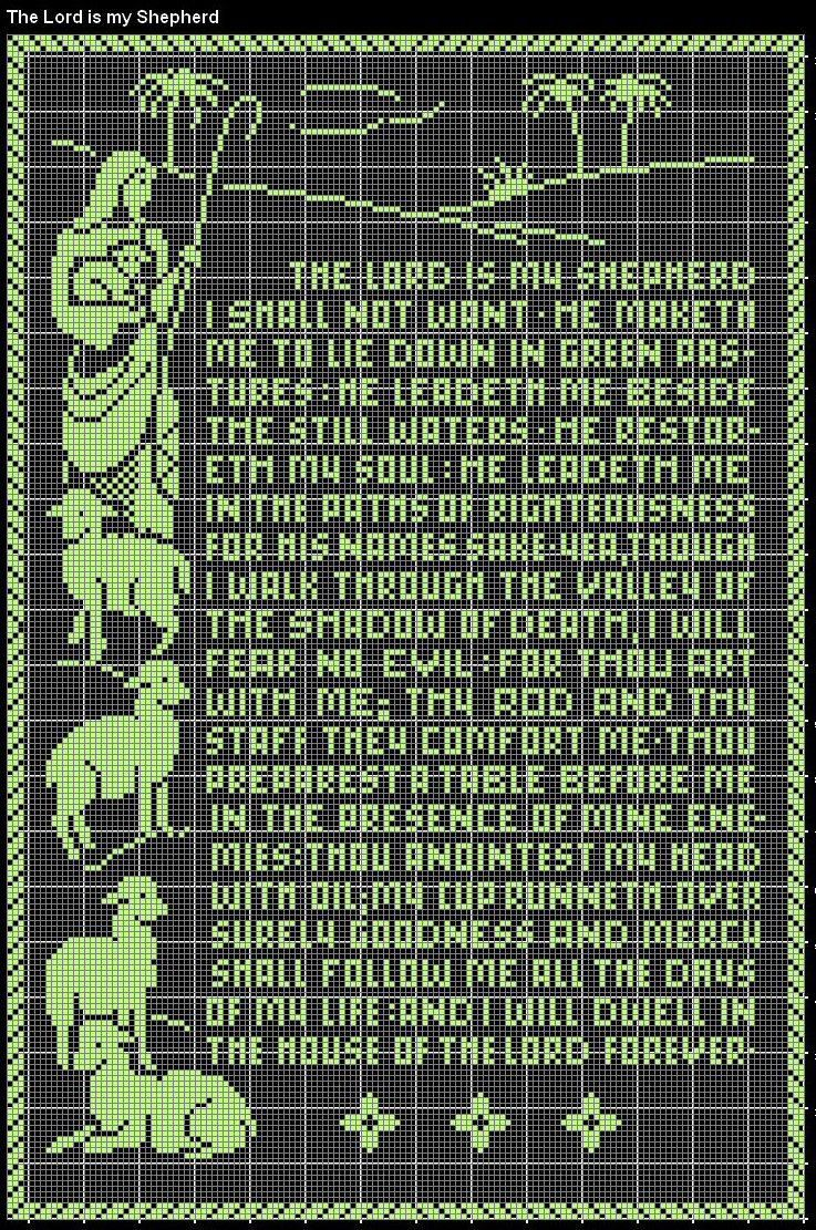 the lords my shepard