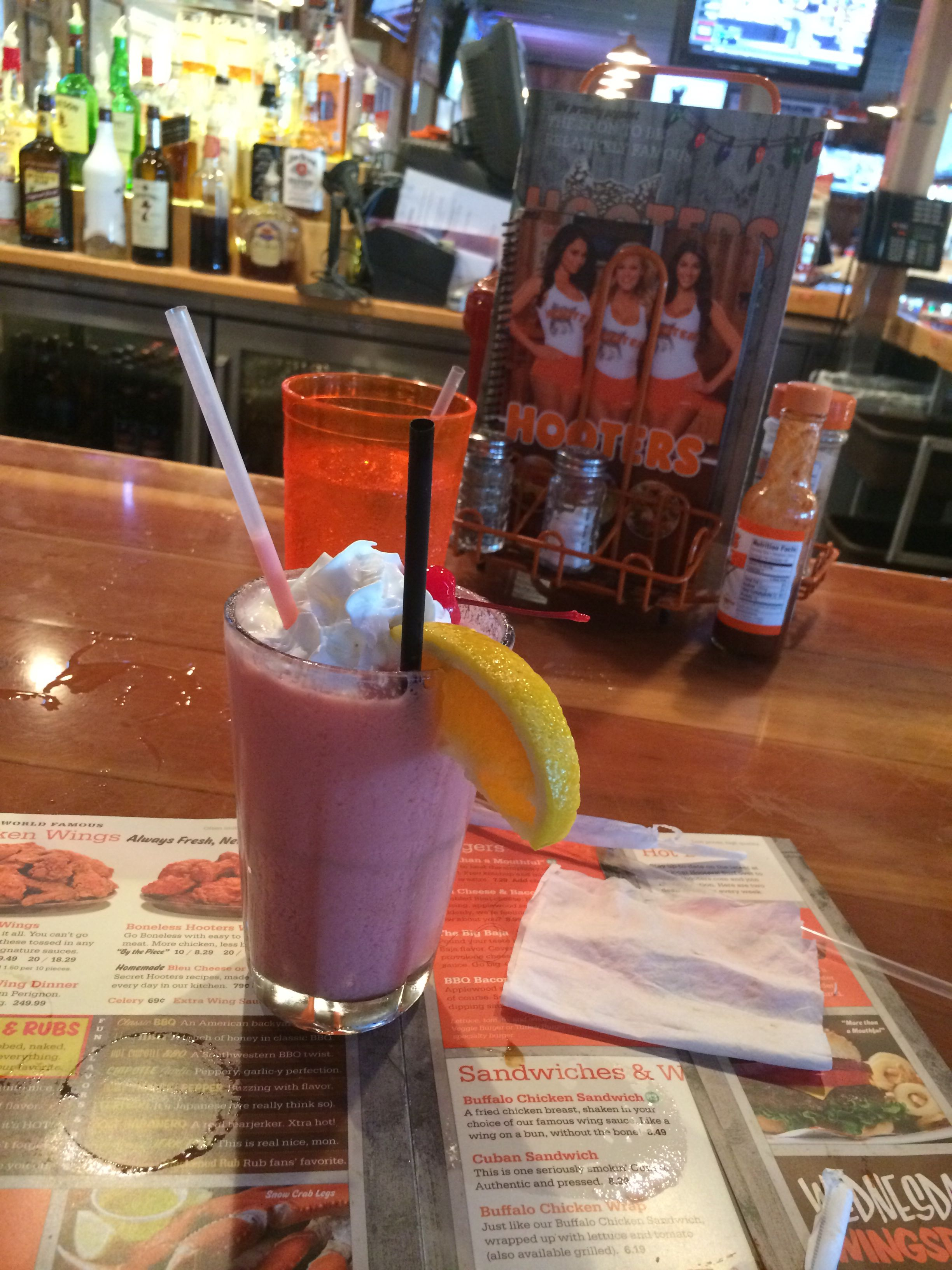 French Connection Smoothie.. Hennessy/ Grand Marnier/ Strawberry ...