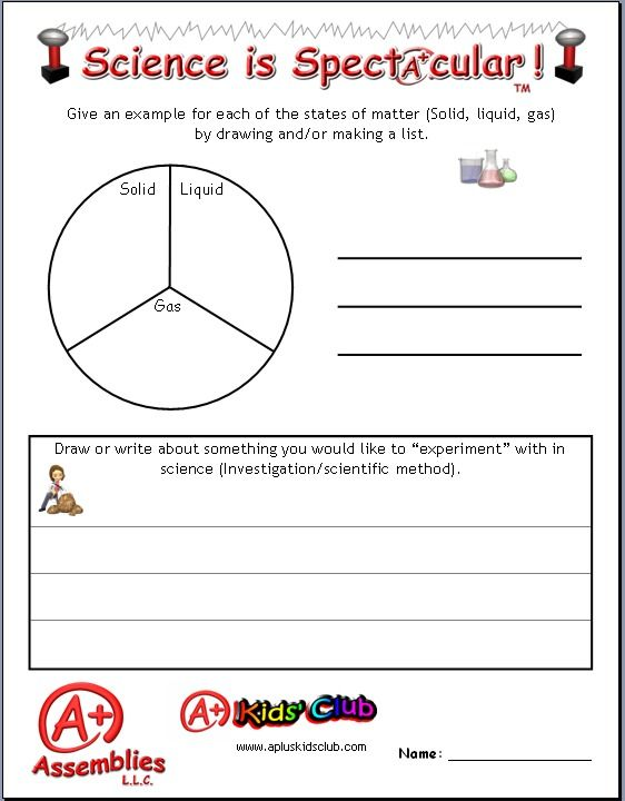 Worksheet Matter Scientific Method And A Graph To