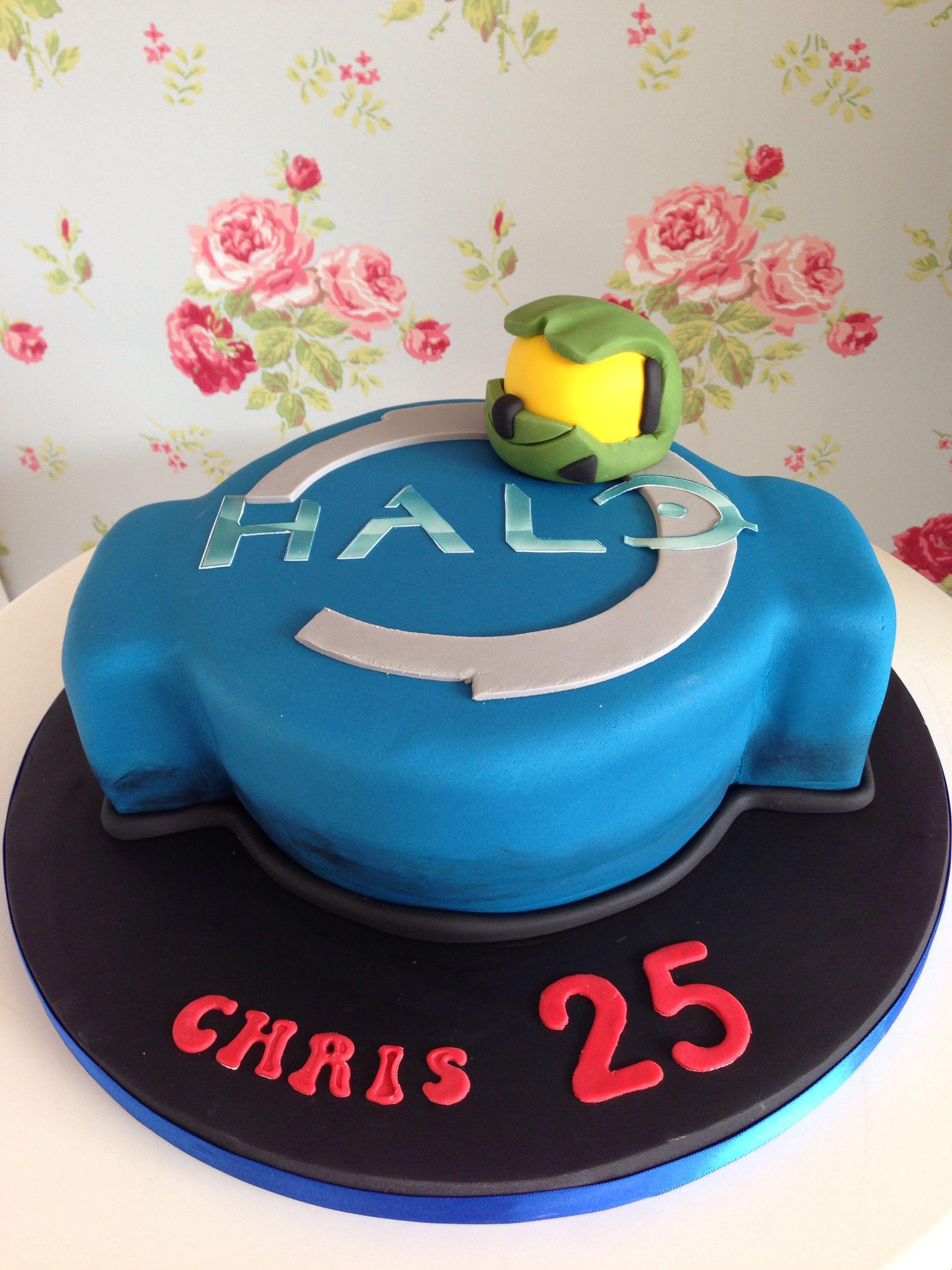 Phenomenal Halo Cake Birthday Cake Kids Halo Cake Birthday Cards Printable Nowaargucafe Filternl