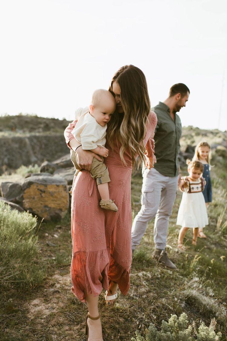 Pocatello Idaho outdoor family session | Kortni Ellett, Idaho photographer