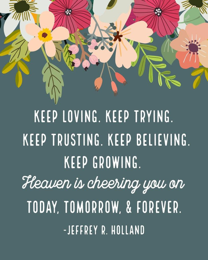 Free april lds general conference quote printables churches