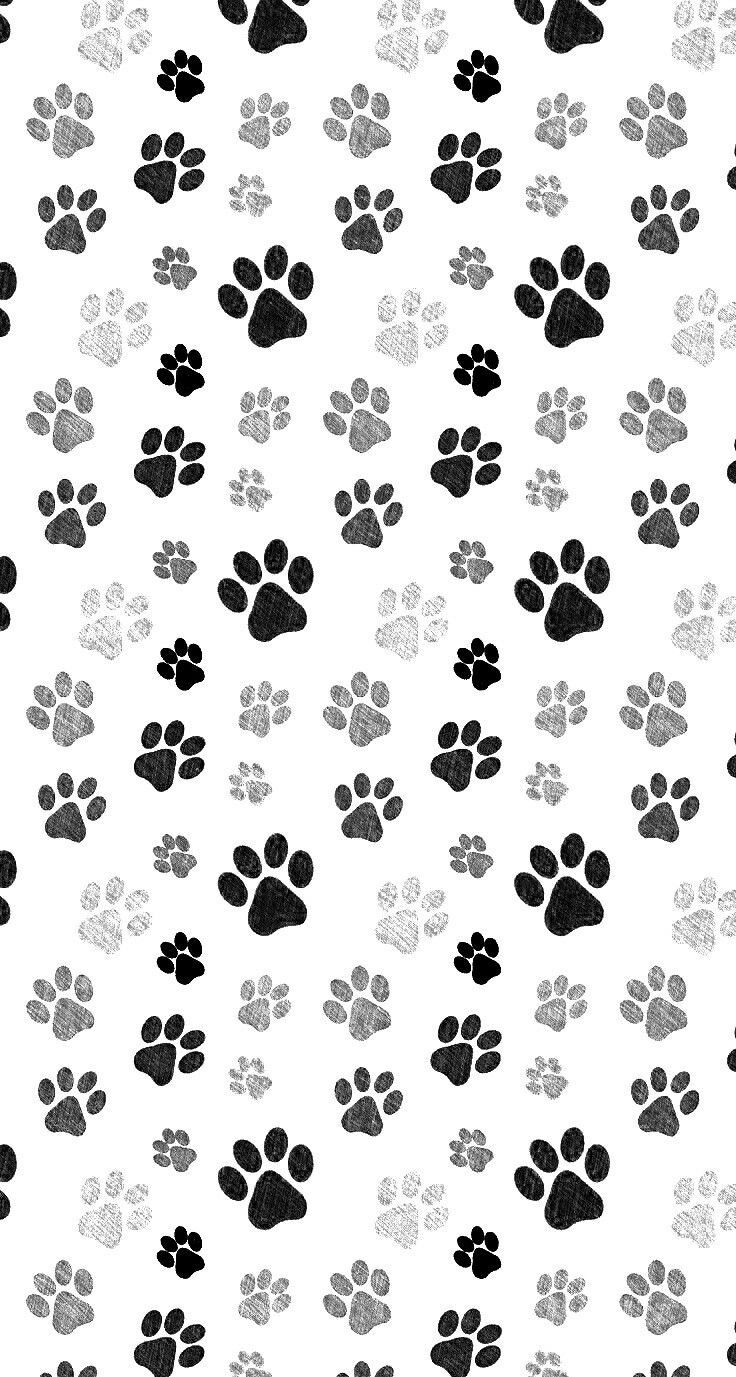 Dog Print Wallpaper