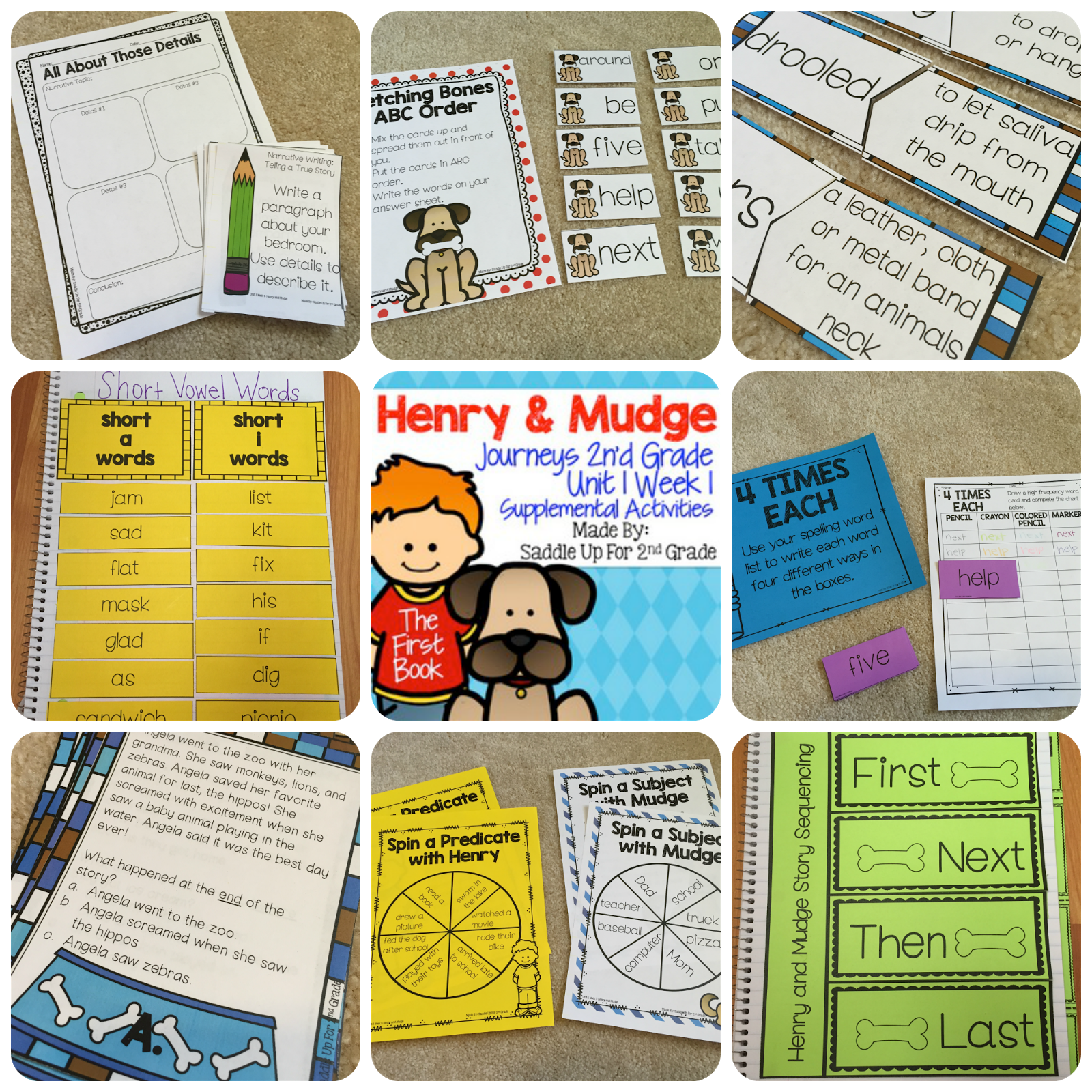 Henry And Mudge The First Book Journeys 2nd Grade