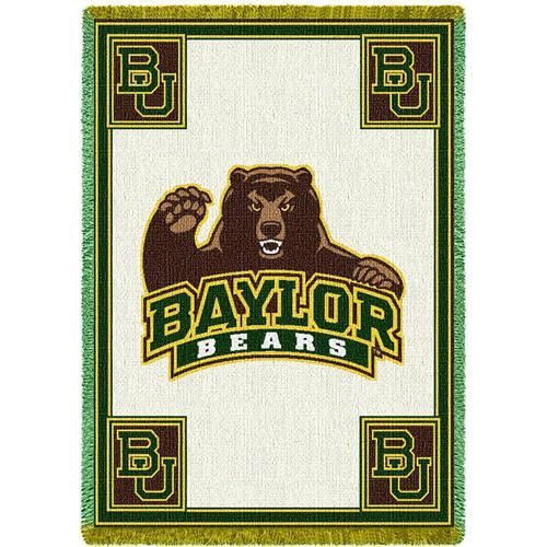 Baylor University Bears Throw Blanket Woven Afghan Tapestry Simple Baylor Throw Blanket