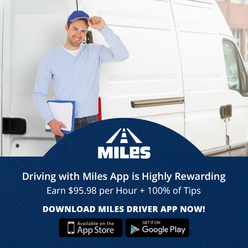 how miles app helps drivers maintain work