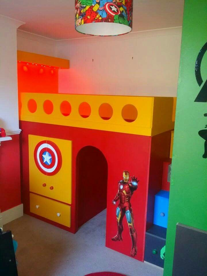 Best Marvel Avengers Theme Bed Childrens Beds Pinterest 400 x 300