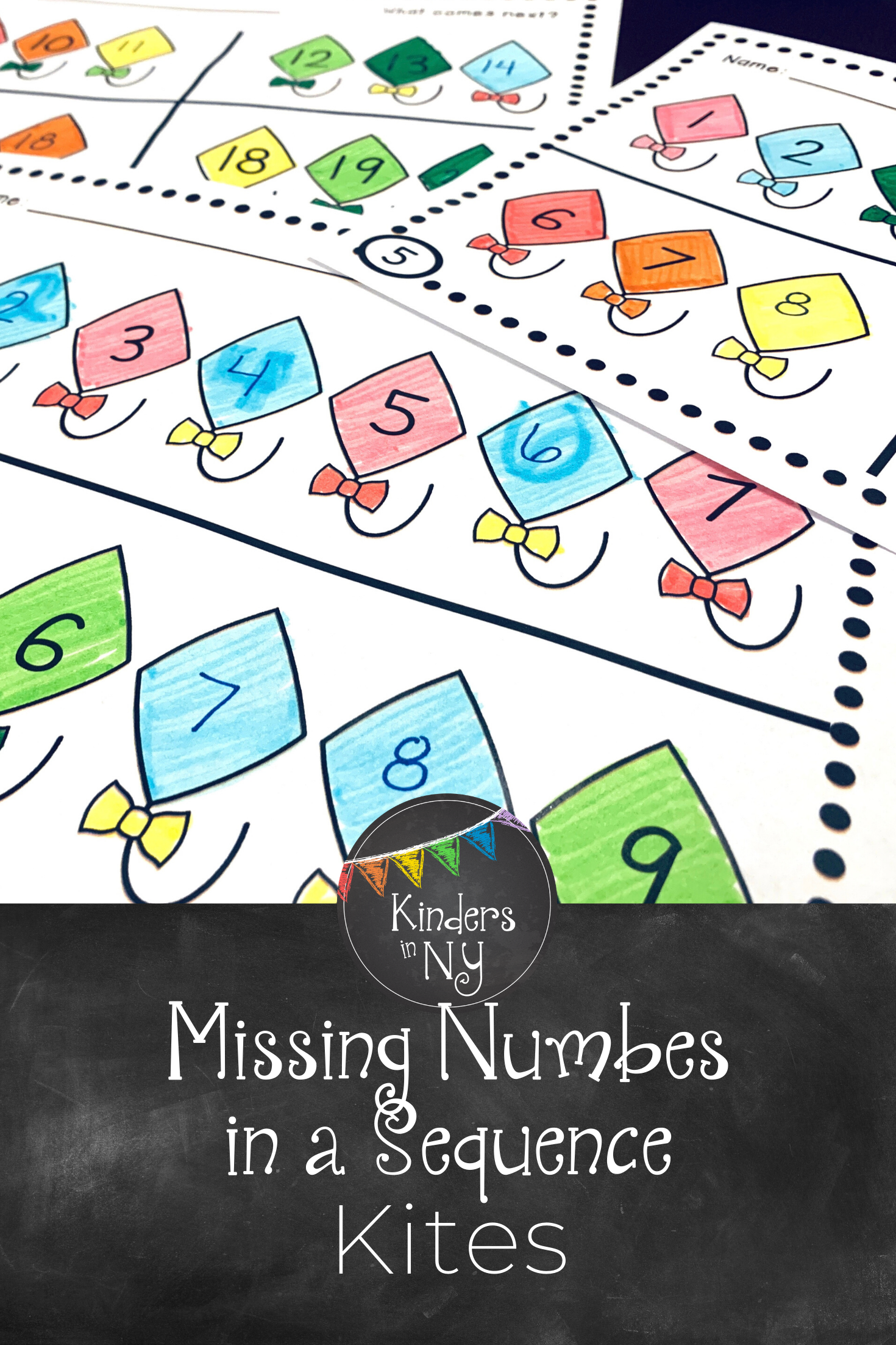 Missing Numbers In A Sequence 1 20 Common Core Aligned