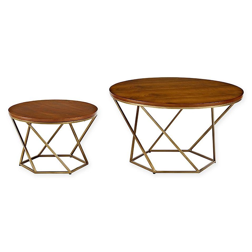 Forest Gate Olivia Modern Geometric Glass Nesting Coffee Tables Bed Bath Beyond Nesting Coffee Tables Geometric Coffee Table Coffee Table Wood [ 956 x 956 Pixel ]