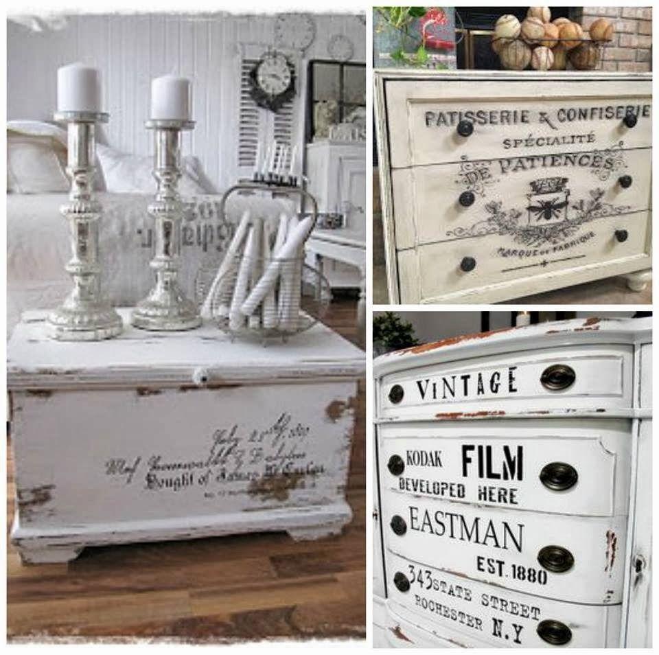 Papel Para Transferencia Buscar Con Google Cajas Y Cosas  # Muebles Efecto Vintage