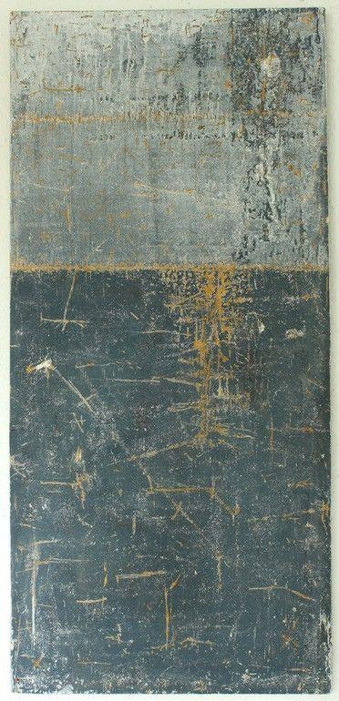 "Saatchi Art Artist: CHRISTIAN HETZEL; Acrylic 2013 Painting ""grey painting"""