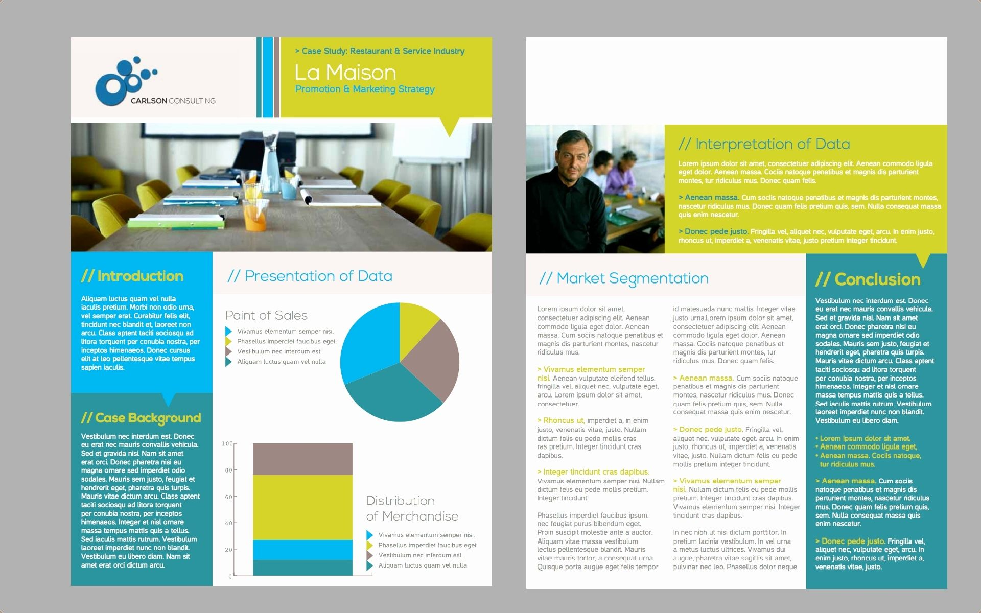 2 Page Brochure >> Pin By Lena Edstrom On Case Studies Brochure Examples