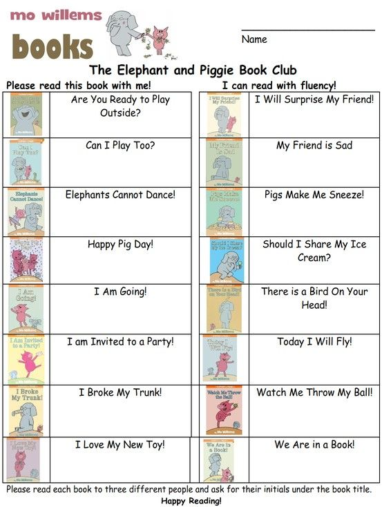 Download the 2012-2013 Elephant and Piggie Book Club envelope cover - new mo willems coloring pages elephant and piggie