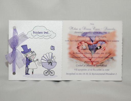 Awesome Invitatii Nunta Si Botez 2 In 1 Books și Awesome