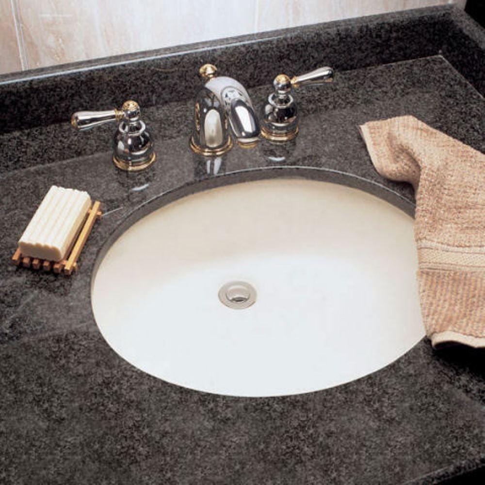 American Standard Ovalyn Undermount Bathroom Sink in White ...