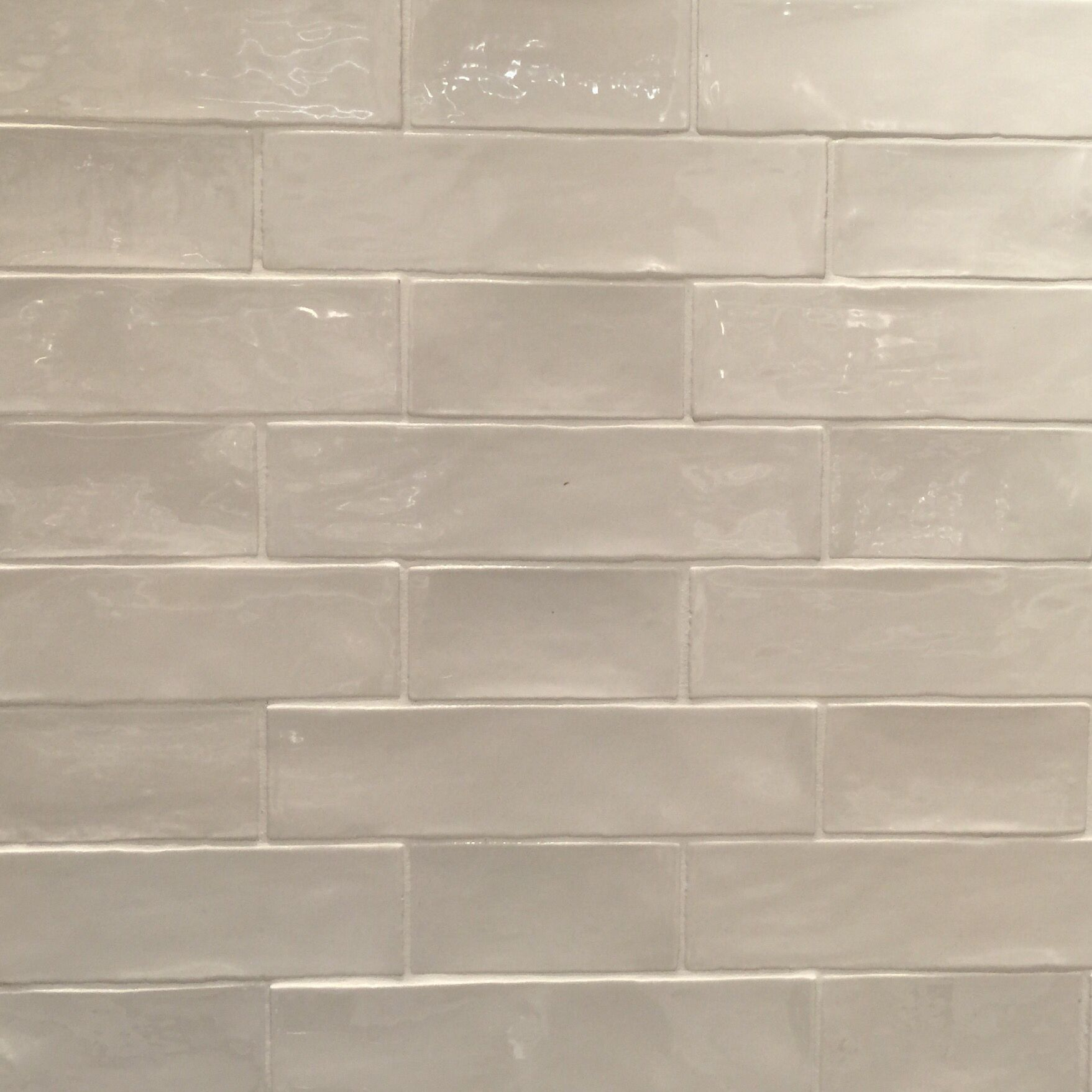handmade look subway tile handmade subway tile in alternating 3x6 and 3x12 pattern 6690