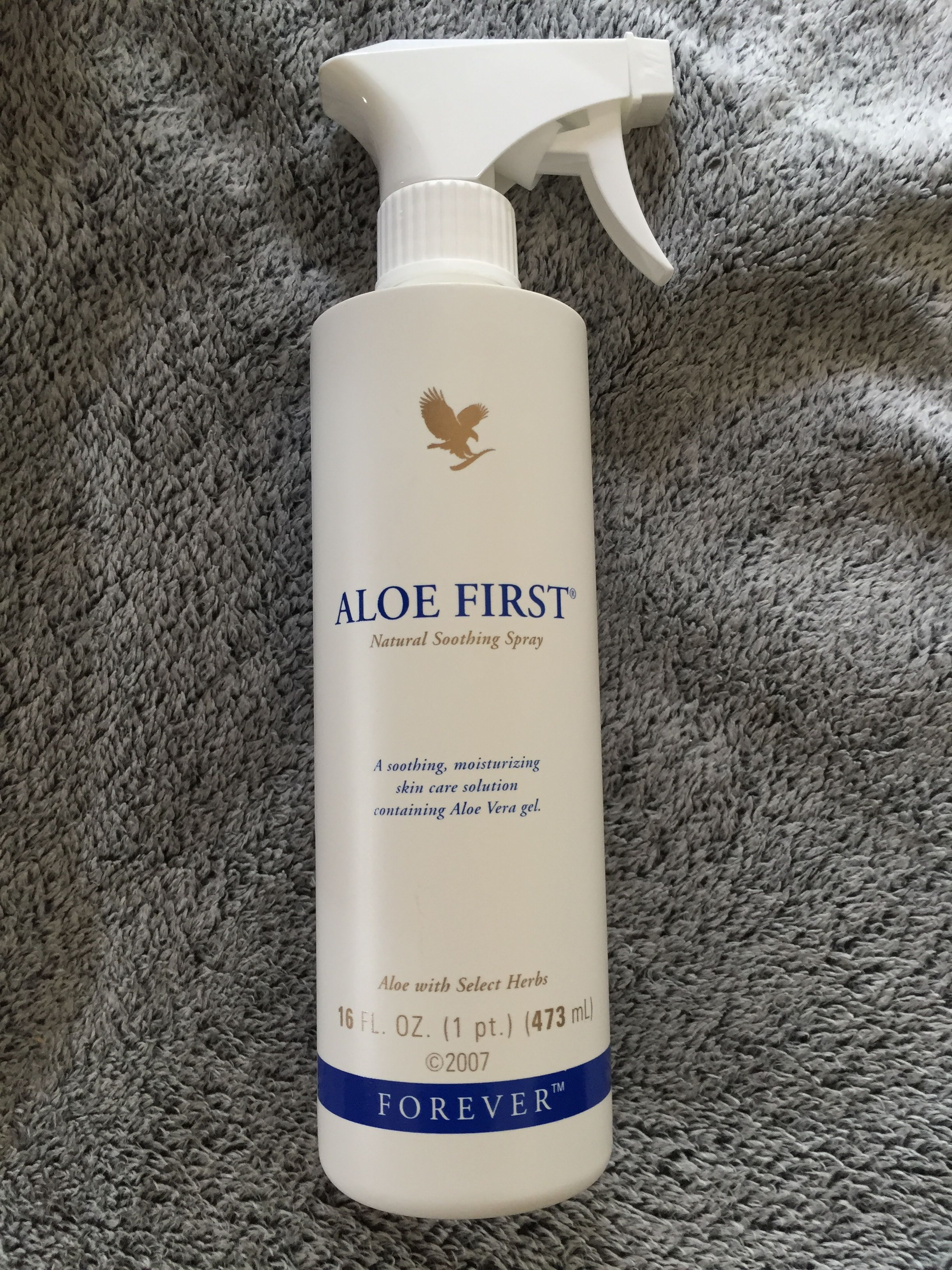 ALOE FIRST spray Forever  #hydratant
