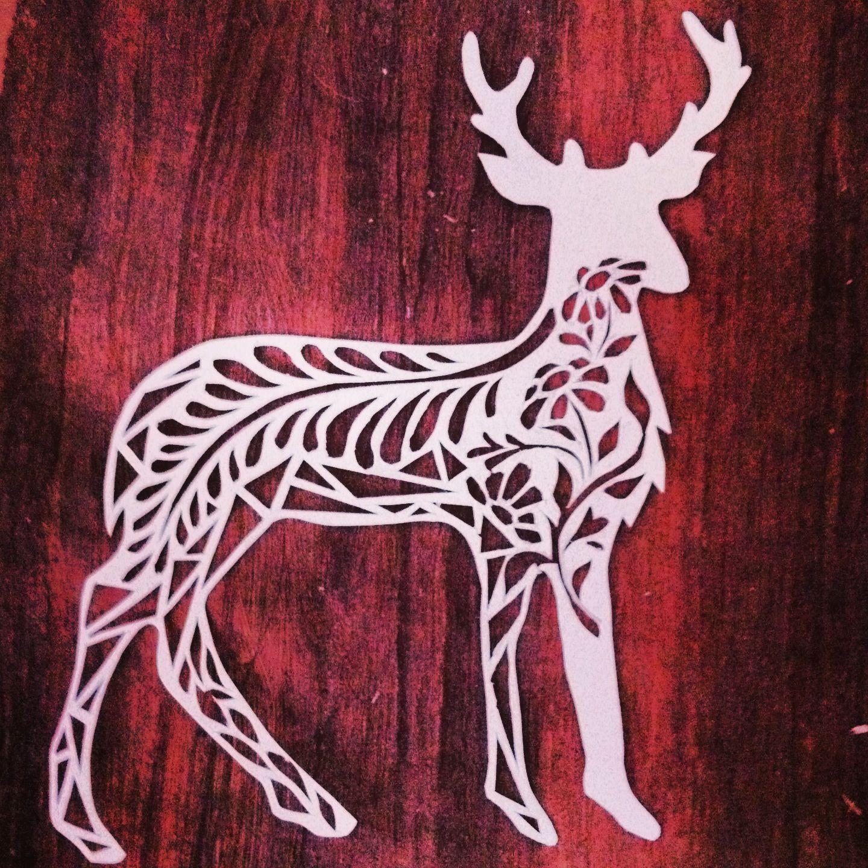 #deer #papercutting