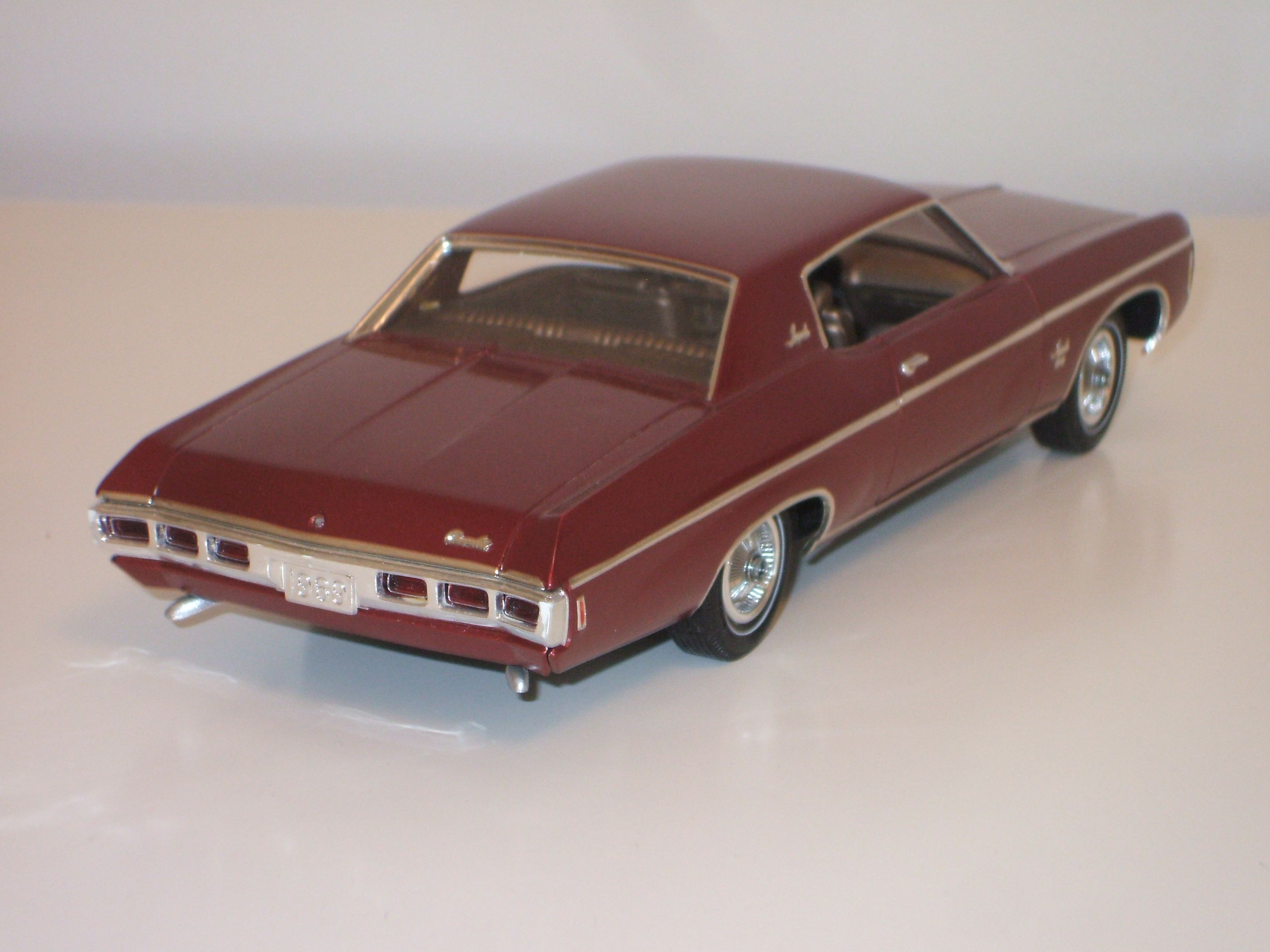 mpc 1969 impala ss scale modelbuilding model cars kits. Black Bedroom Furniture Sets. Home Design Ideas