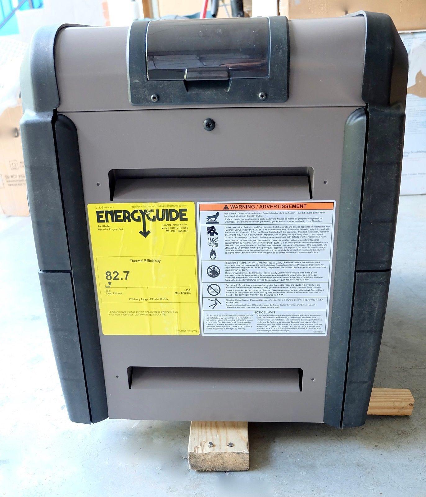 hayward h150fdp gas propane 150000 btu pool heater no box universal rh pinterest com Universal Heater Switch Universal Heater Control Valve