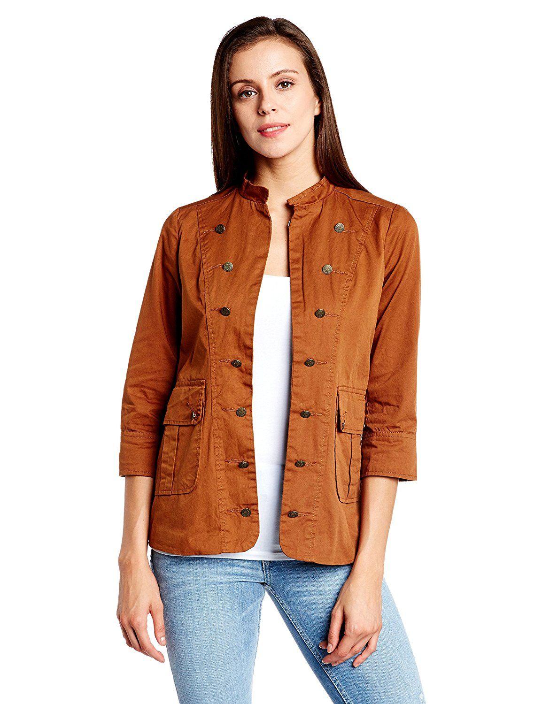 People womenus cotton jacket jackets for women pinterest