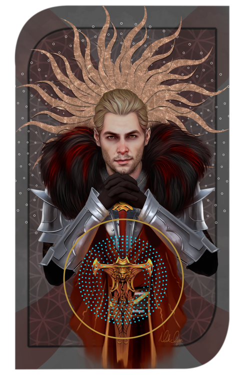 Note to self: work on how to paint armor because problems. XD Ah well. On to Dorian!