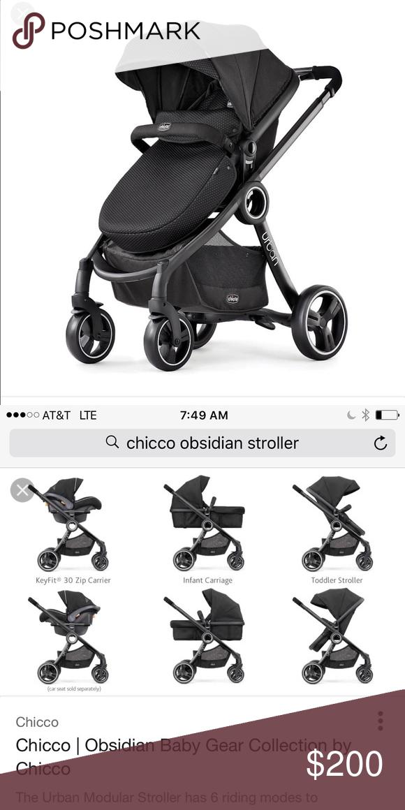 Chicco Obsidian urban stroller Urban stroller, Chicco
