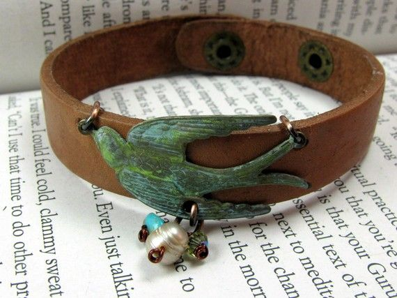 Bird Bracelet. Want Now.