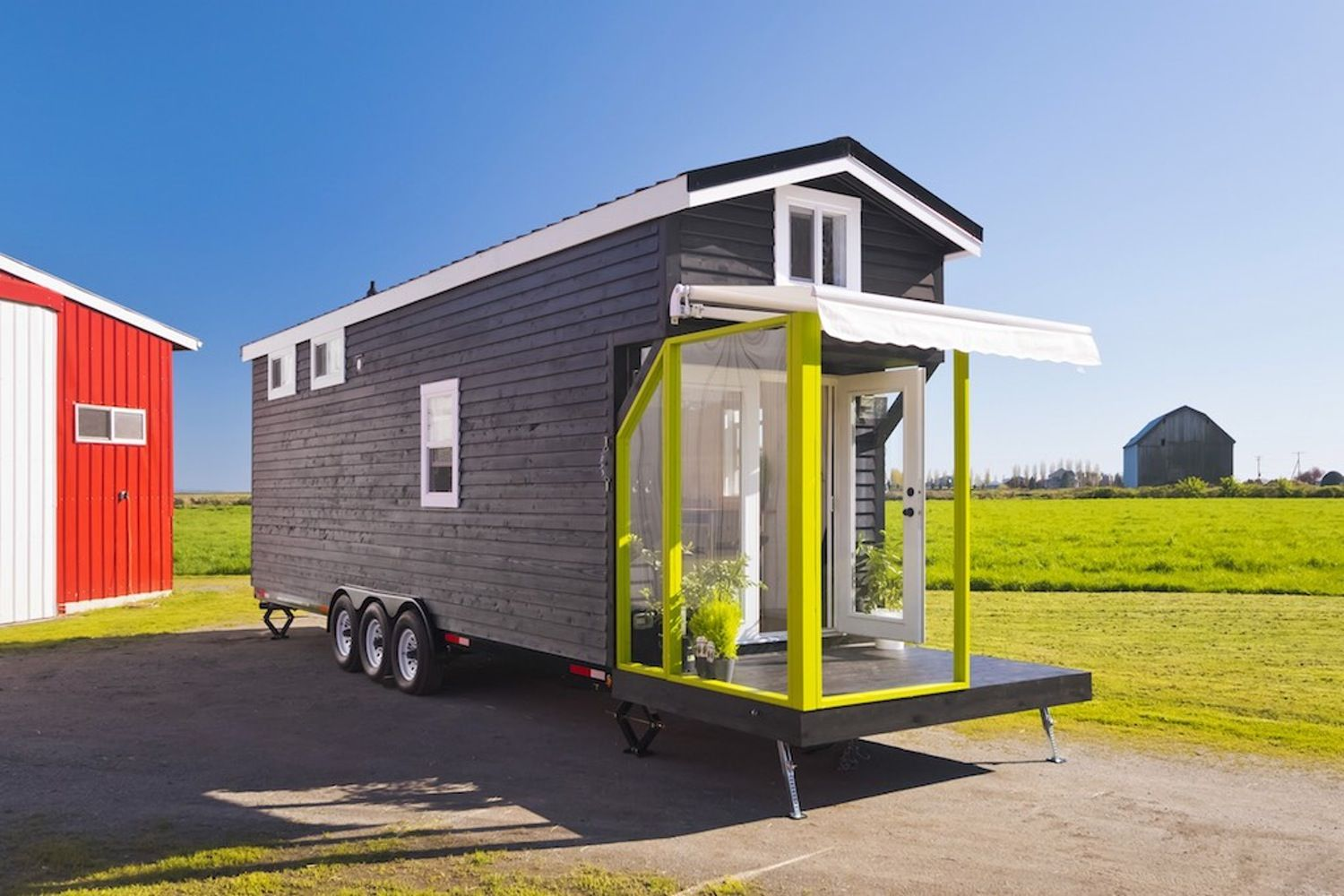 Curious How a 310 Square Foot Tiny House Can