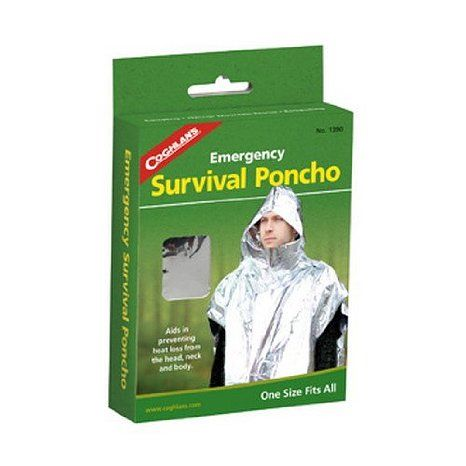 Emergency Survival Poncho