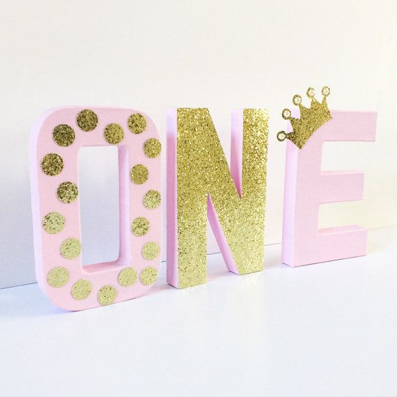 You can use wood or foam letters from walmart and paint and put glitter or decorate as you want. But this would be cute with a photo of Sa'Nya in front. -CiCi-