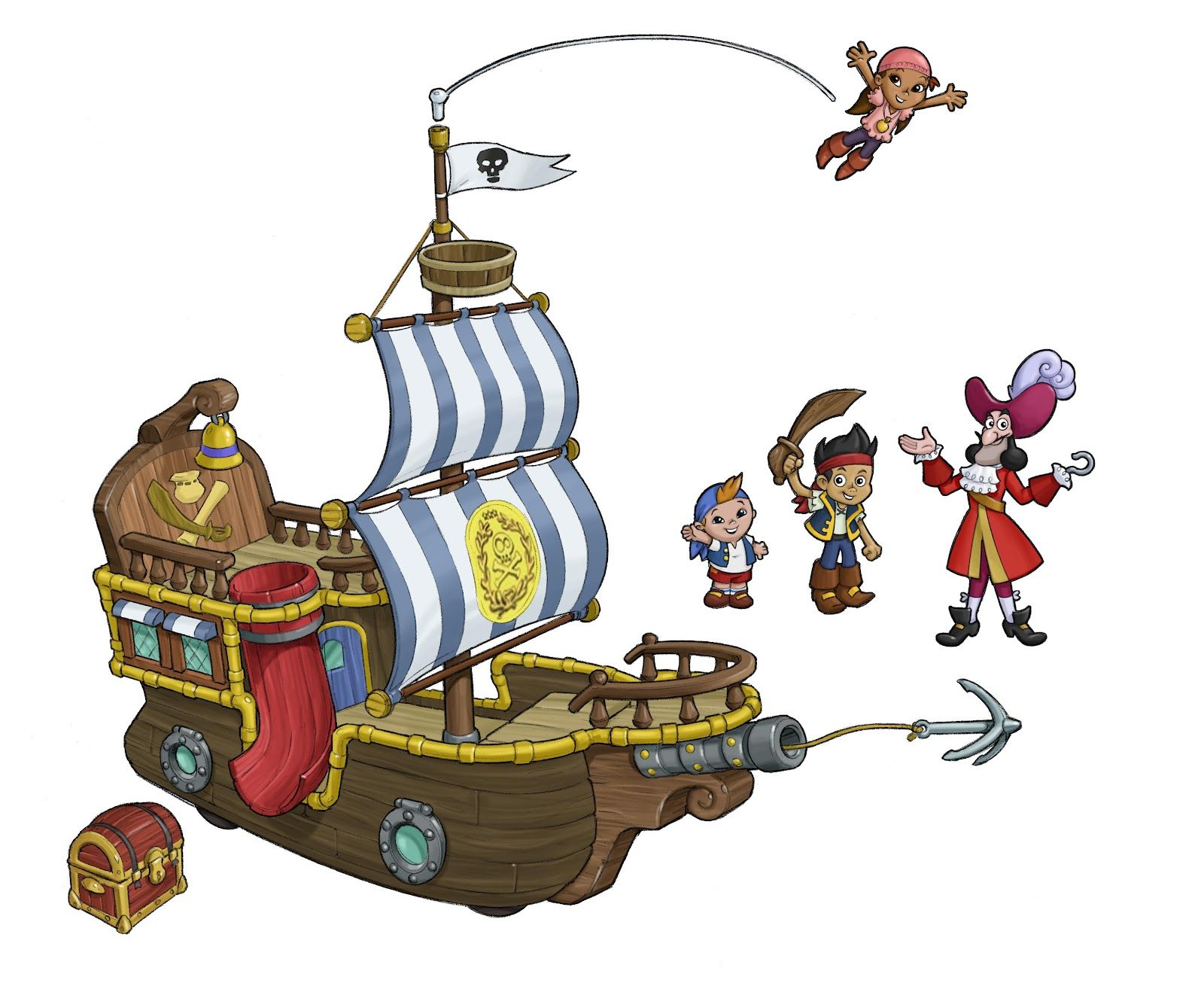 jake-and-the-neverland-pirates-bucky-ship-645368.jpg (1600×1318 ...